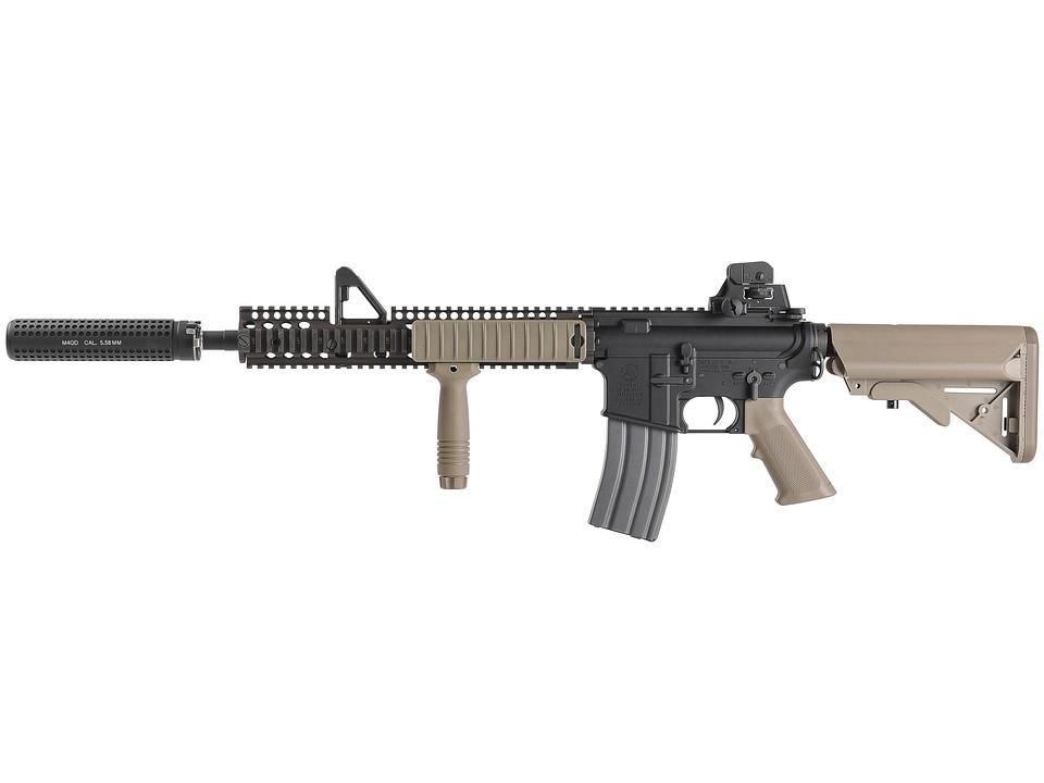 VFC Colt M4 FSP AEG (JPver./COLT&DD Licensed) FDE ガンケース付 SuperDX Limited