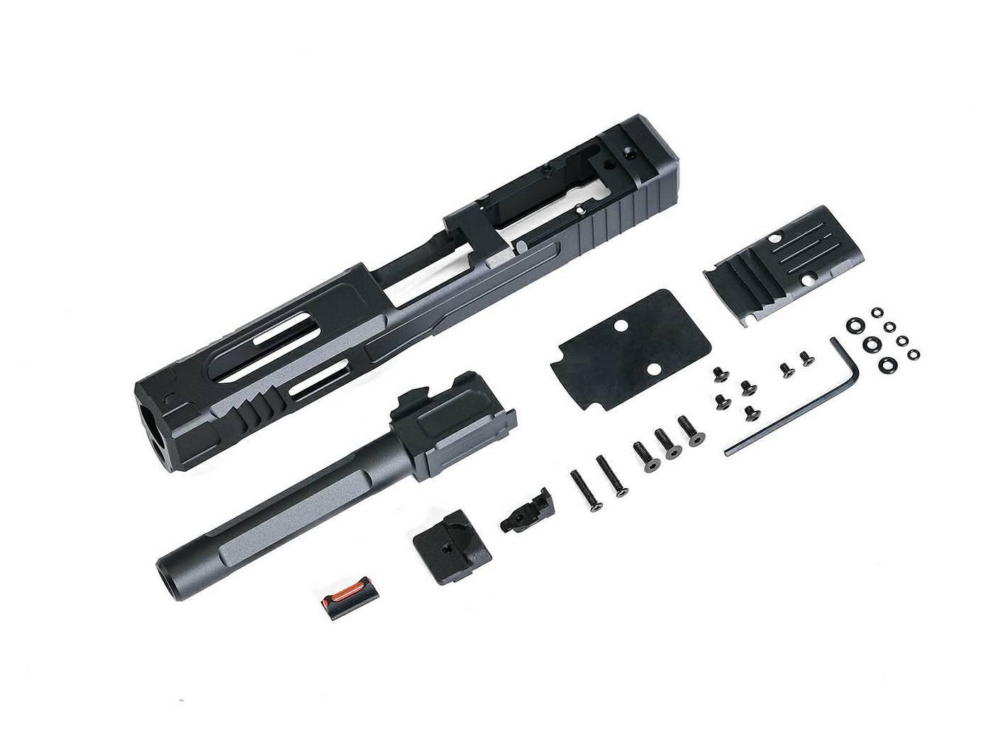 【新製品予約】X-Craft FI G17 MK2 CNCスライド/アウターバレルセット (VFC/Umarex G17用)