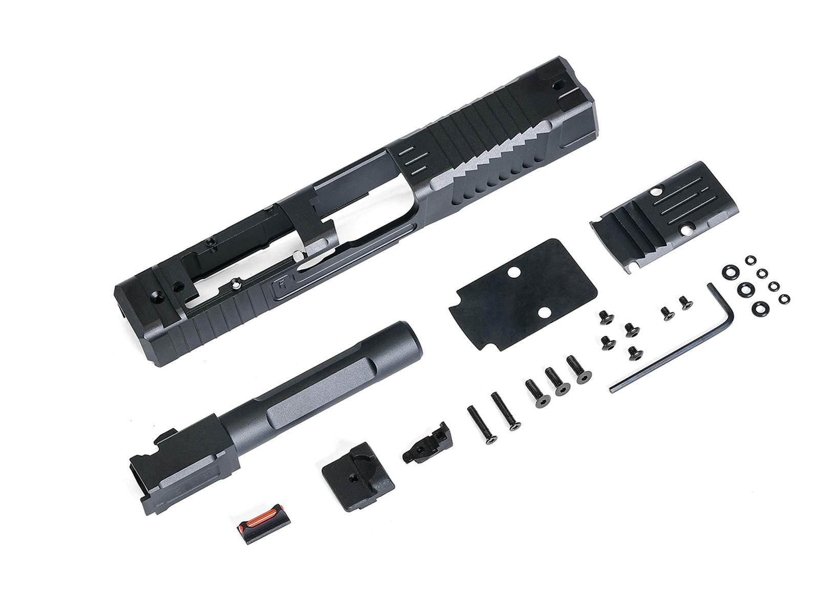 X-Craft FI G19 MK1 CNCスライド/アウターバレルセット (VFC/Umarex G19シリーズ用)