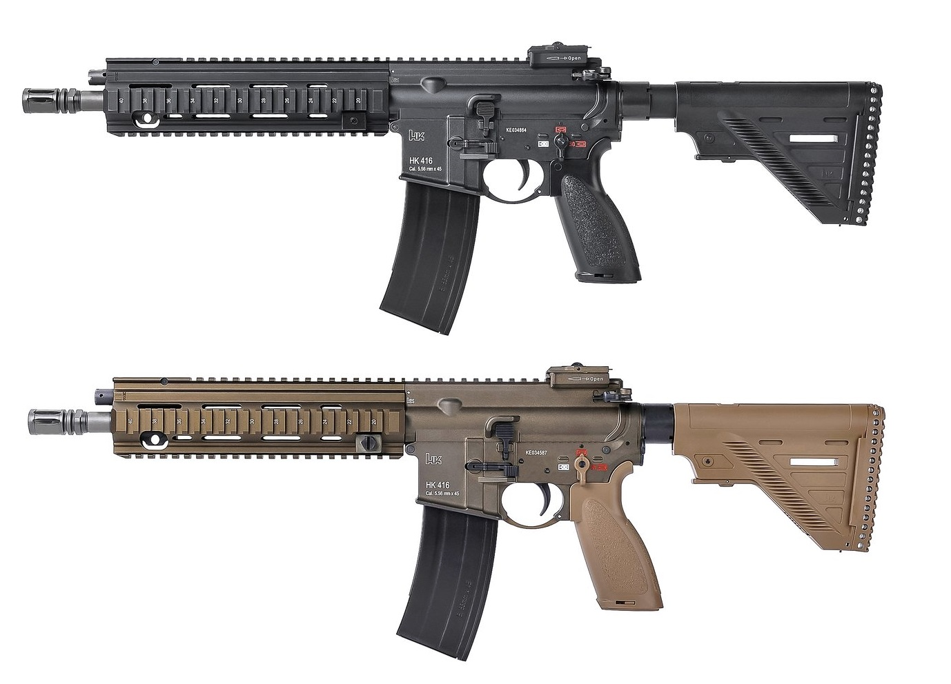 【再入荷予約】Umarex HK416A5 GBBR (JPver./HK Licensed)