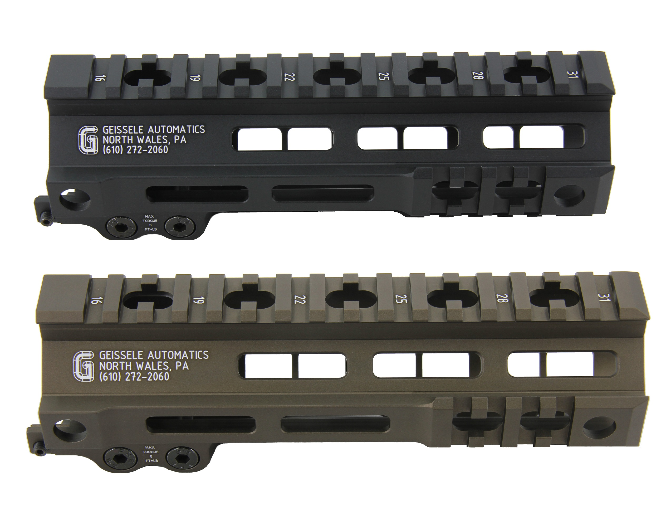 Zparts Geissele MK4タイプ 7'' ハンドガード(MWS/VFC/PTW/GHK/WE対応)