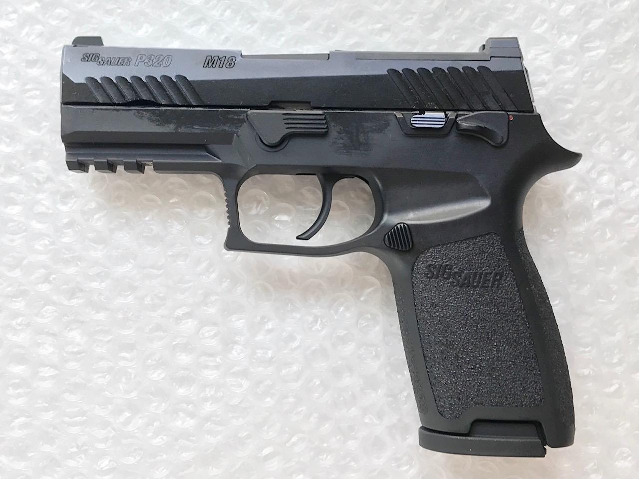 SIGAIR/VFC P320/M18 ガスブローバック(リキッドチャージ) -BK