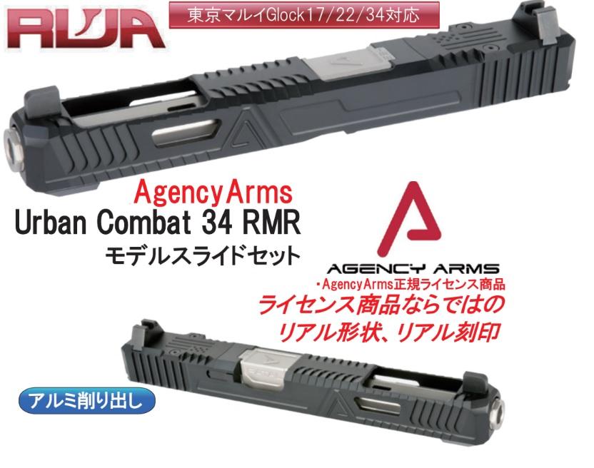 RWA マルイG17用 Agency Arms Urban Combat FATAL G34スライドセット