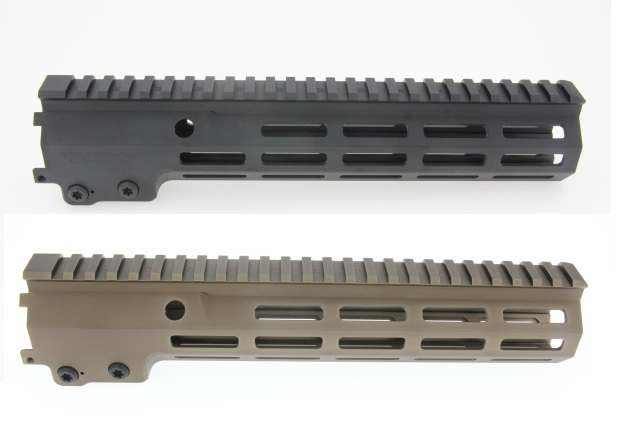 Z-parts Geisseleタイプ MK16ハンドガード 10.5in