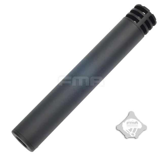 FMA SilencerCo Harvester-Iスタイルサプレッサー F35×223.5mm 14mm正/逆ネジ BK