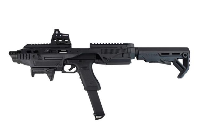 【新製品予約】ACE1 ARMS IMI Defense Kidonスタイル モジュラーピストルコンバージョンキットBlack (K1グロックアダプター付属)