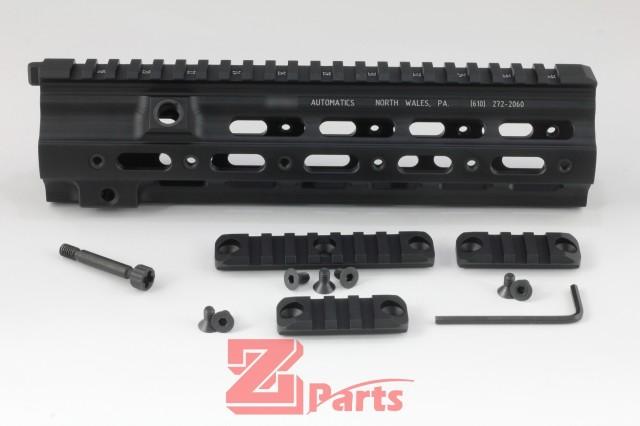 Z-parts HK416 geissele タイプ SMRレール 10.5''-Black