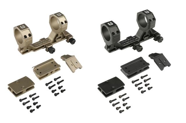 """Airsoft Artisan Badger COMMスタイル 30mmモジュラースコープマウント 1.93"""" RMR/T1アダプター付属"""