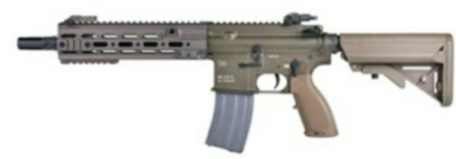 【新製品予約】Umarex H&K HK416 CAG GBBR (JPver./HK Licensed) RAL8000