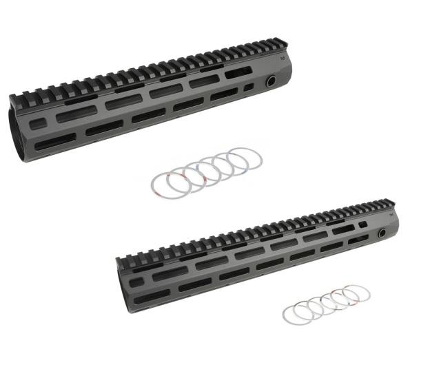 C&C Tac KAC URX4タイプ M-LOK レイルハンドガード Black (STD M4 AEG/M4 MWS GBB対応)