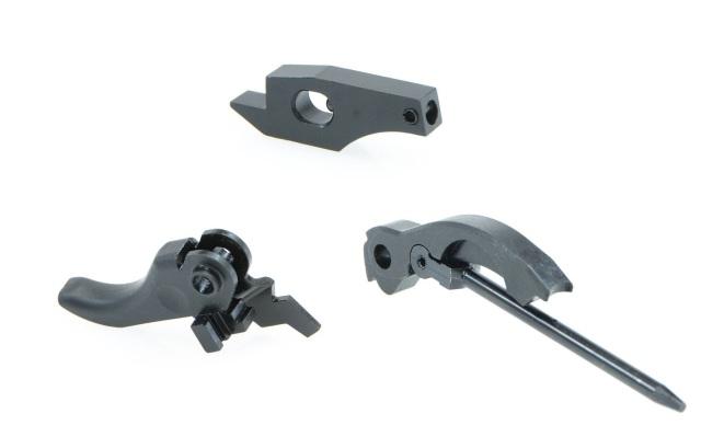 CRUSADER VFC G3/MP5GBB用 スチールトリガー・シア・ハンマーセット