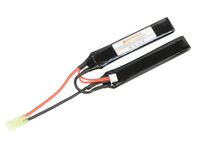 EOL LiPoバッテリー/7.4v 1000mAh 25C ダブルセパレート
