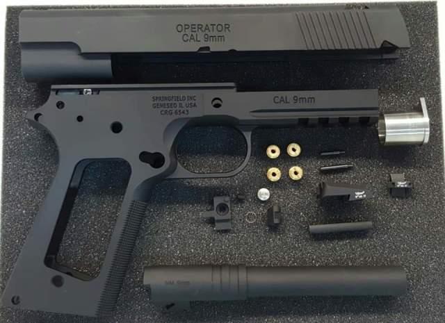 NOVA マルイ1911/MEU用 プロフェッショナルオペレーター 9mm(セラコート版)