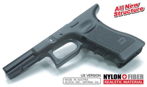 Guarder マルイG17/18C用オリジナルGen.3フレーム(USA Ver/BK)