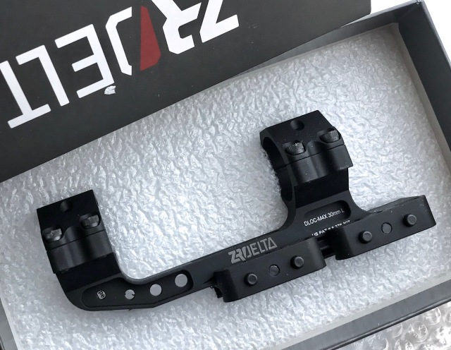 ZRO Delta DLOC M4 QD Scope Mount -30mm
