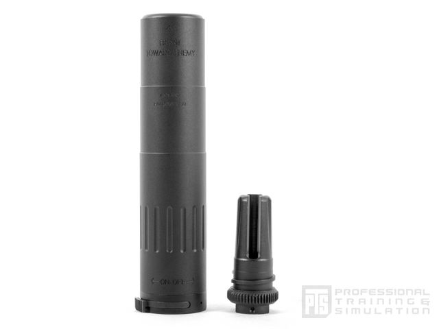 PTS MK18SD Mock Suppressor/51Tフラッシュハイダー付属14mm逆ネジ (Non-US version)
