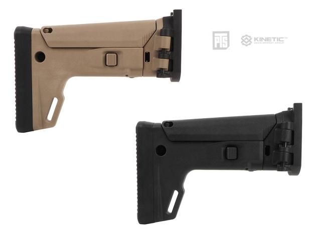 PTS Kinetic SCARアダプターストックキット/VFC SCAR-H GBB対応