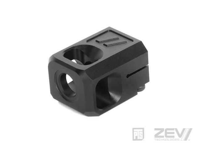 PTS ZEV V2 PRO Glockコンペンセイター (14mm逆ネジアウター対応)