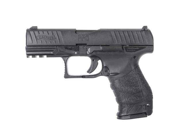 Umarex Walther PPQ M2 NPA GBBハンドガン (BK)