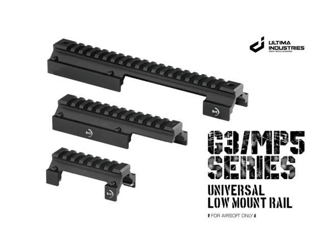 【新製品予約】ULTIMA MP5/G3 B&TタイプUniversal Low Mount Rail マウント