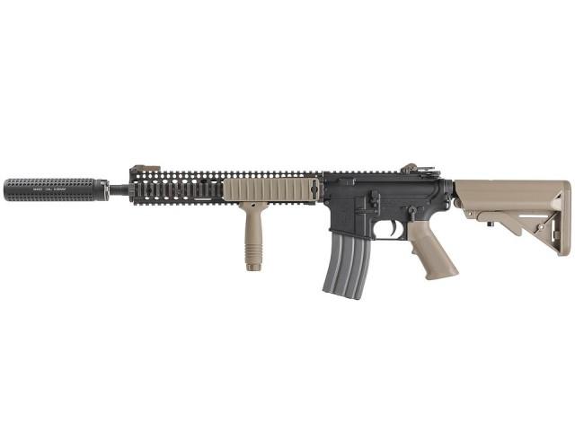 VFC Colt M4 RIS2 AEG (JPver./COLT&DD Licensed) FDE ガンケース付 SuperDX Limited