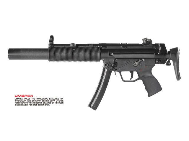 【新製品予約】Umarex H&K MP5SD3 GBBR/EarlyModel (JPver./HK Licensed)