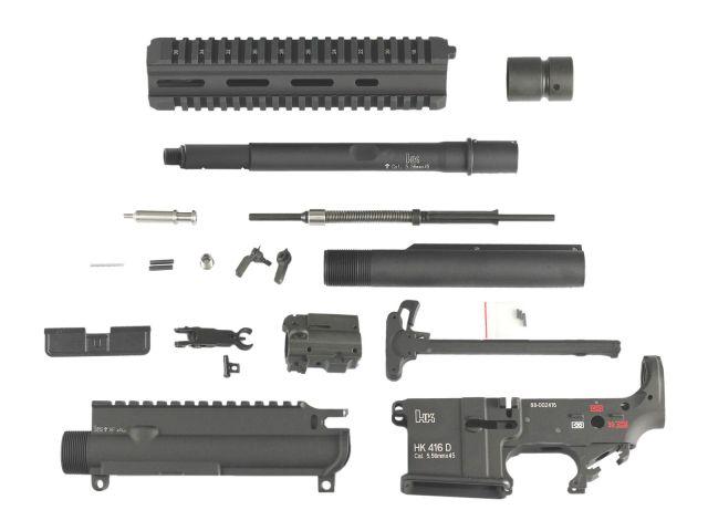 Z-parts Sytema PTW用 HK416D コンバージョンキット