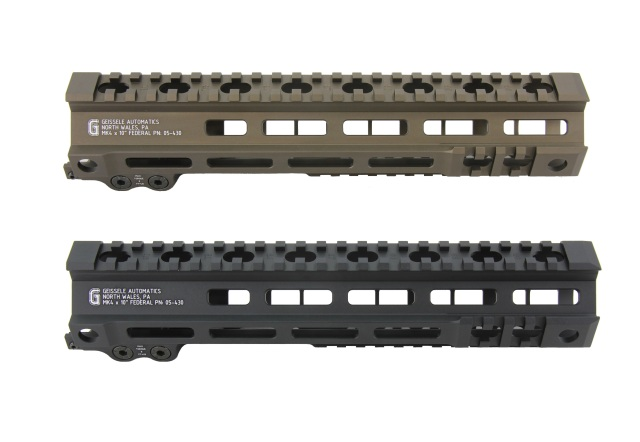 Zparts Geissele MK4 federalタイプ 10'' ハンドガード(MWS/VFC/PTW/GHK/WE対応)