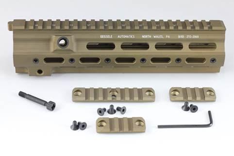 Z-parts HK416 geissele タイプ SMRレール 10.5''
