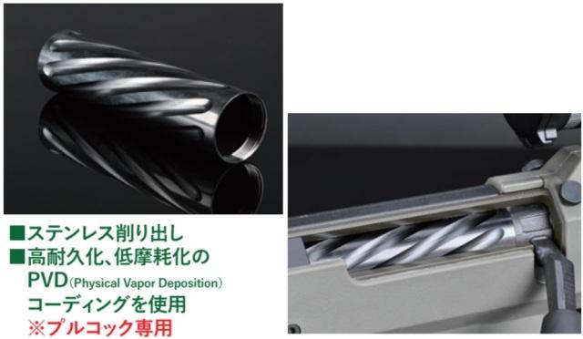 Silverback SRSステンレスシリンダー(ツイスト)