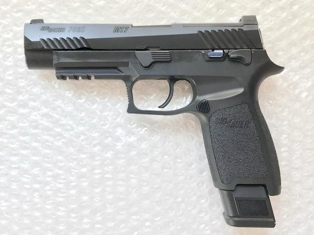 SIGAIR/VFC P320/M17 ガスブローバック(リキッドチャージ) -BK