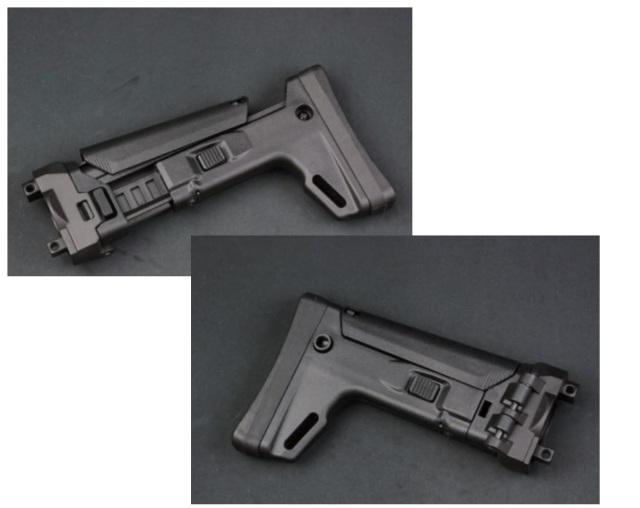 MP5 AEG用 MASADA/ACRタイプストック