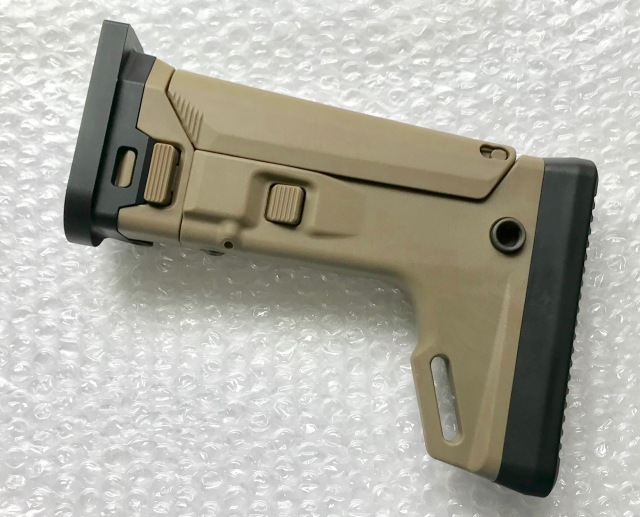 Renegade WE / Cybergun(VFC) SCAR GBB用 KDGタイプ ACRストックキット