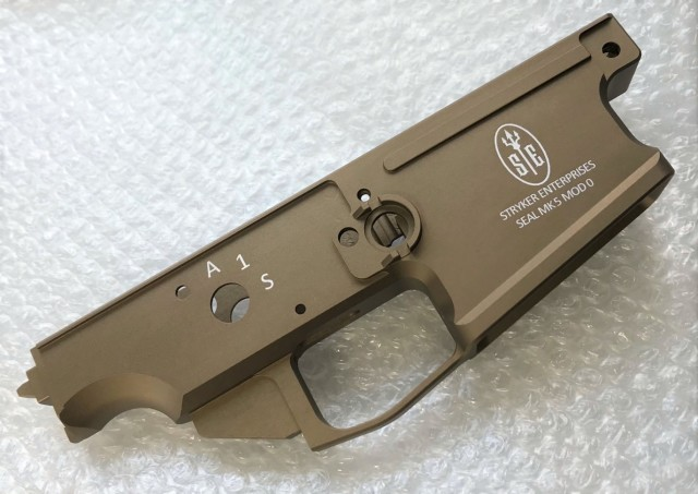 RENEGADE VFC(cybergun) SCAR H GBB用 Stryker Enterprisesタイプ エンハンスド アルミロアレシーバー