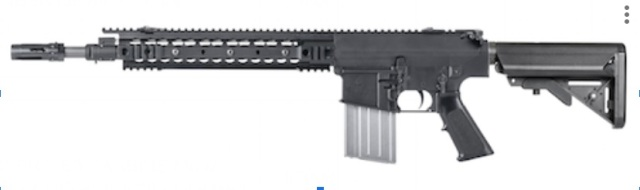 【新製品予約】VFC KAC SR25 Enhanced Combat Carbine GBBR (JPver./Knight's Licensed)