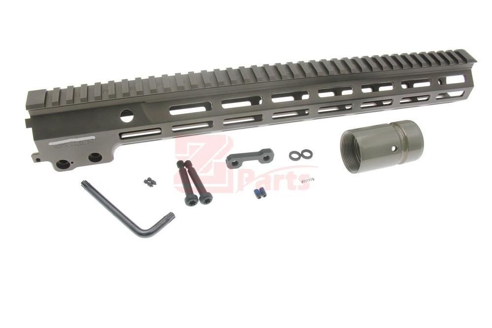 Z-parts Geisseleタイプ MK16ハンドガード 15in