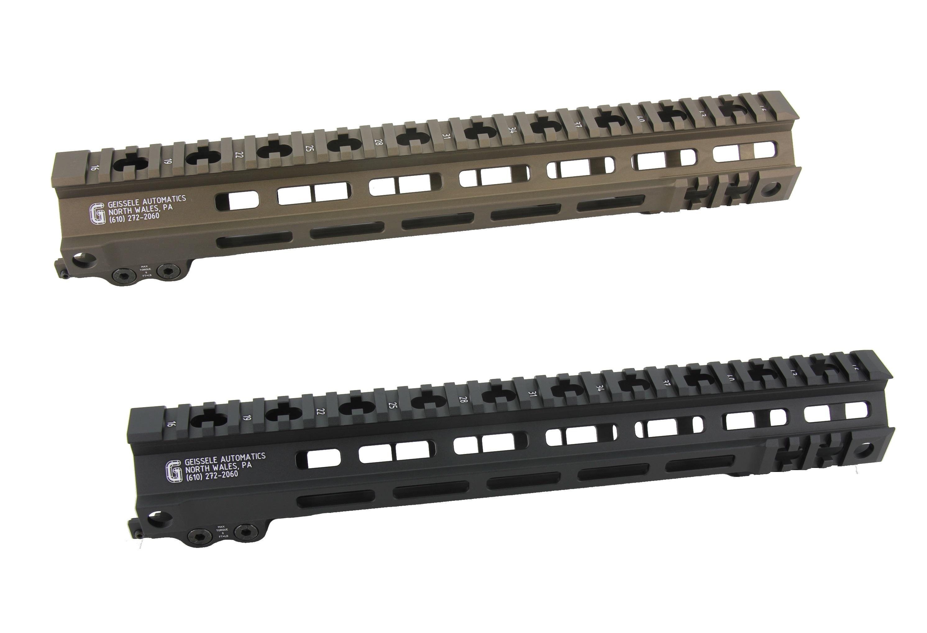 Zparts Geissele MK4タイプ 13'' ハンドガード(MWS/VFC/PTW/GHK/WE対応)