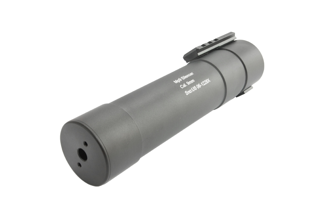 【再入荷】Angrygun B&Tタイプ KWA MP9・TP9用 レンジアップサプレッサー