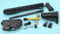 【新製品予約】Guns Modify SAI GRY SBR GBB コンバージョンキット Black (東京マルイM4 MWS対応/SAI Licensed)