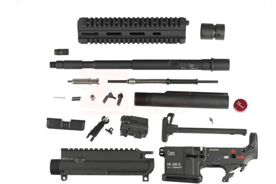 Z-parts SYSTEMA PTW用 HK416 コンバージョンキット