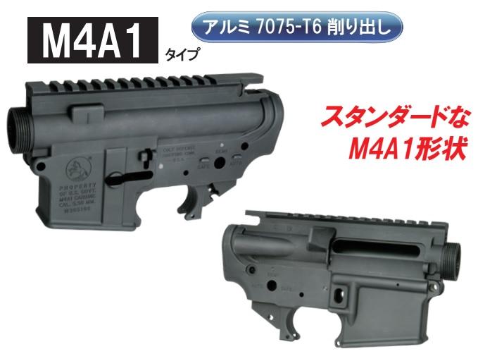 Wiitech マルイM4MWS用M4タイプアルミレシーバーセット