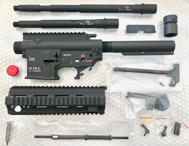 【訳アリ特価】Z-parts SYSTEMA PTW用 HK416 コンバージョンキット