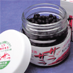 梅のパワーで毎日健康!! 黒いつぶつぶ 完熟梅肉エキス(粒) 100g(約660粒)