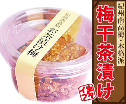 【紀州産南高梅】梅干屋が作ったプロの味!本格派「梅干茶漬け」生タイプ・1食(20g)ずつ小分け容器入