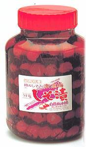 【紀州産南高梅】懐かしいすっぱさ「しその葉漬」 瓶詰(大瓶)塩分約14%・中辛口【送料無料】