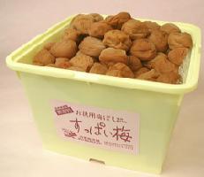 【送料無料】【紀州産南高梅】すっぱい梅(家庭用田舎の梅) 5kg