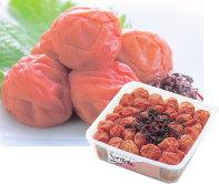 【紀州産南高梅】しそ漬梅 1kg 角樽(簡易包装)(塩分約14%)