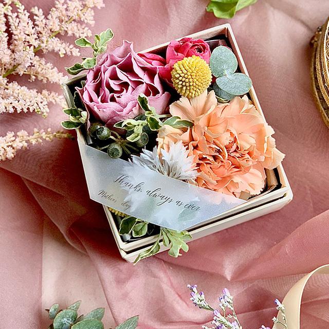 母の日ギフトB/Flower Box S
