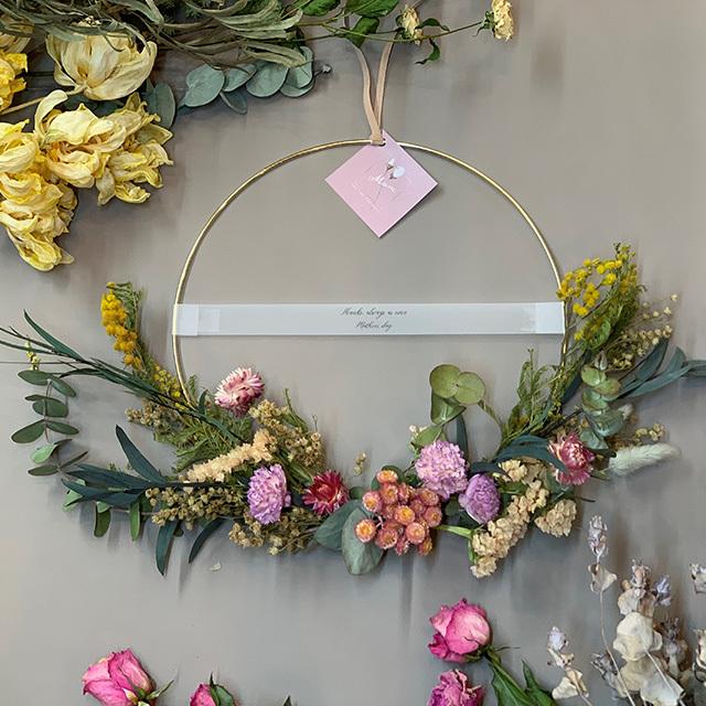 母の日ギフトE/ Iron Wreath L