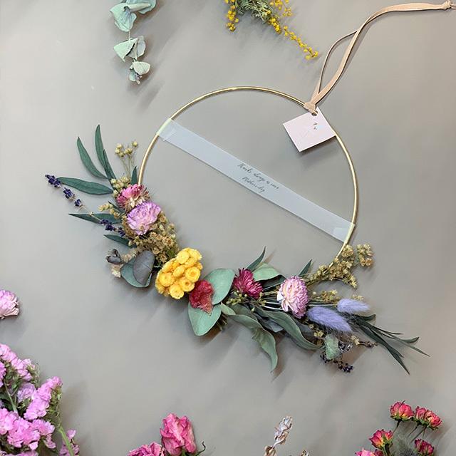 母の日ギフトF/ Iron Wreath S